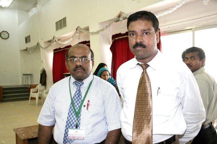 Aleem with Karaikal S.M. Arif Maricar