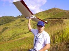 lanzamiento del aeromodelo