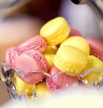 Macarons no Pétrus - Londres