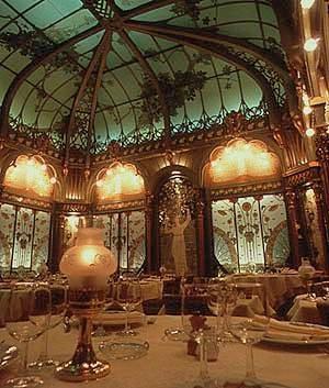 Os vitrais de La Fermette Marbeuf, em Paris