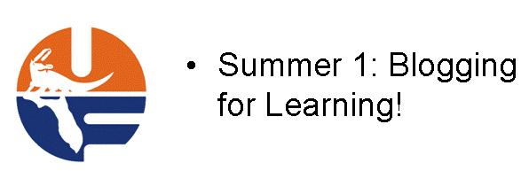 Summer I School Blog
