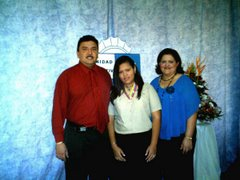 momi, dady and me