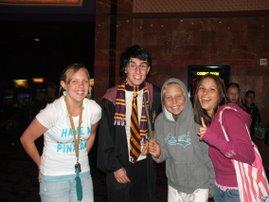 Harry Potter in 'da house!