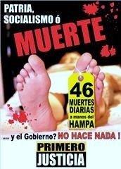 Afiche campaña Primero Justicia contra la inseguridad