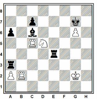 Problema número 139 en problemas de ajedrez