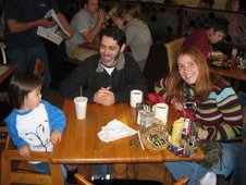 Esther, Erin & Evan, Walnut St Cafe, November 2006