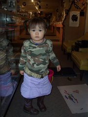 My little Rocker, Indianapolis, October 27, 2006