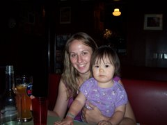 Esther and Jennae in a Brooklyn Cafe