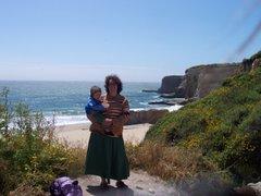Bonny Doon Beach, California June 2006