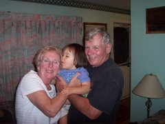 Esther with Joan & Alex, Oct 2006