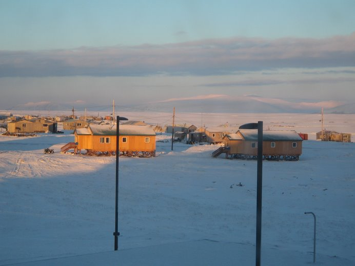 View from my classroom, December 2006