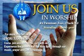 Come, Join & Praise the Lord with us!