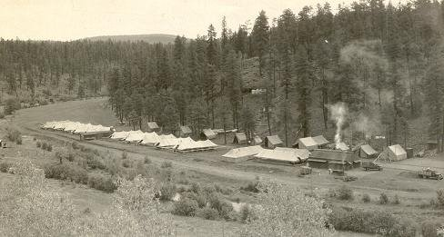 Buffalo Crossing Camp, Eastern Arizona
