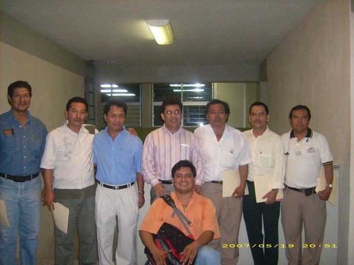 Foto del Recuerdo con el Secretario de Educación