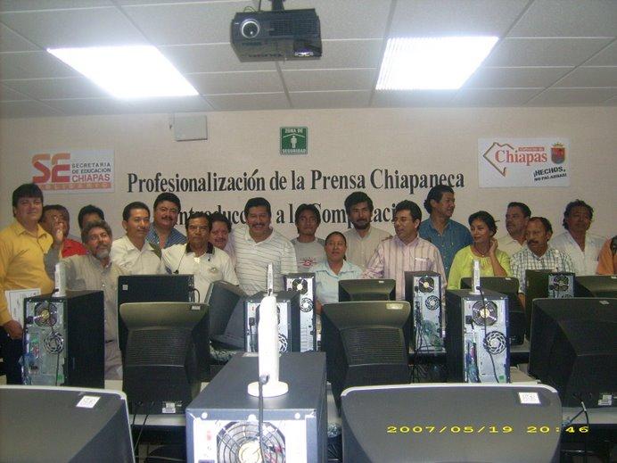 Clausura del Primer Curso de Informática y Computación dirigido a Periodistas
