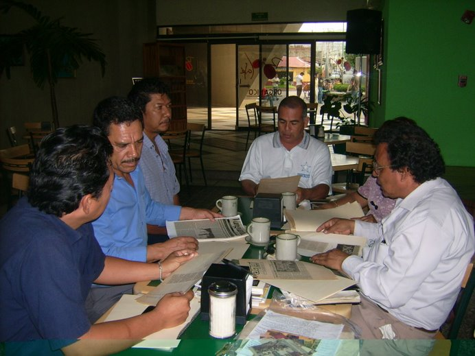 Reunión de trabajo con expresidentes de la Asociación de Redactores y Reporteros