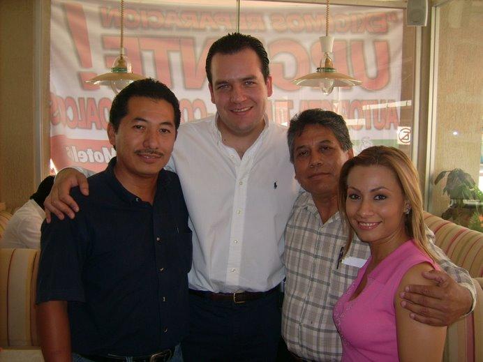 Sergio Armando Marìn Ortega, Roberto Albores Gleason, Mario Albores Guillèn y Esther Almazàn
