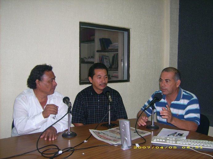 La entrevista en Radio