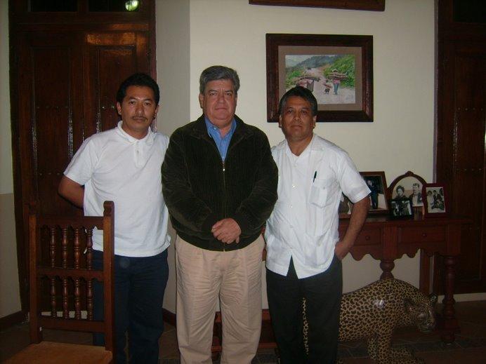Sergio Armando Marín, Roberto Albores Guillèn y José Mario Albores Guillèn