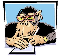 if you had a million Shakespears, could they write like a monkey ?