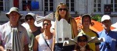 La troupe en parade - Avignon 2006
