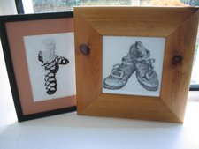 Irish Dancing Hard and Soft Shoe Cross Stitch Patterns