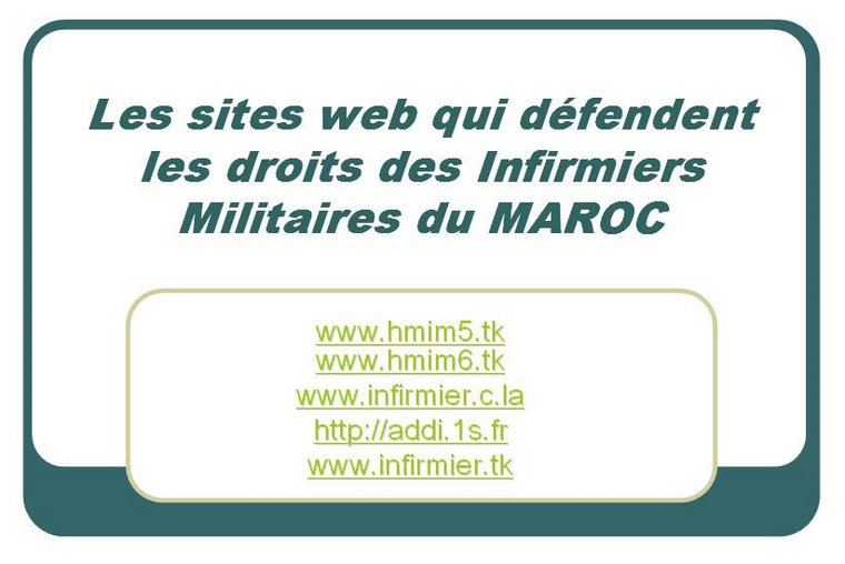 les sites web