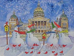State of Iowa Governor's Christmas Card