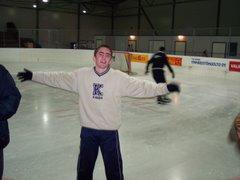 skating...