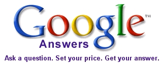 Logo de Google Answers