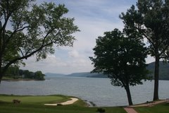 18th Green of the Leatherstocking Course on the Otsego lakeshore