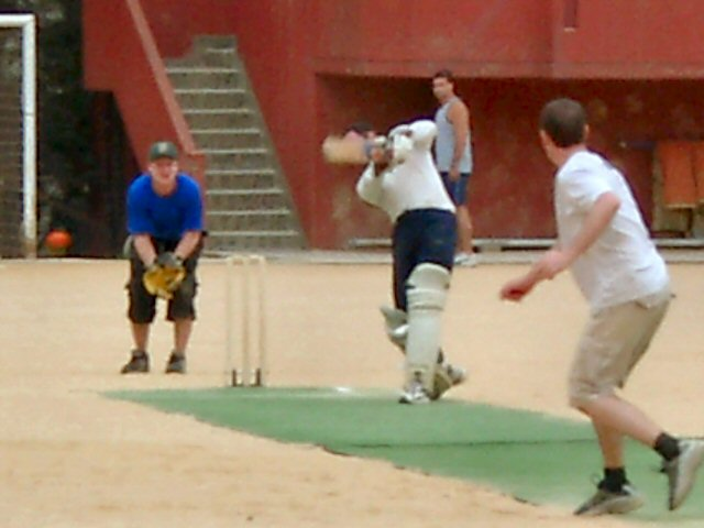 Imperious Cover drive by OCR Kinghorn