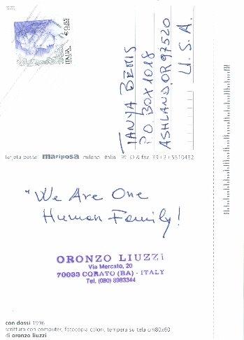 Oronzo Liuzzi, Italy  Posted 05/07