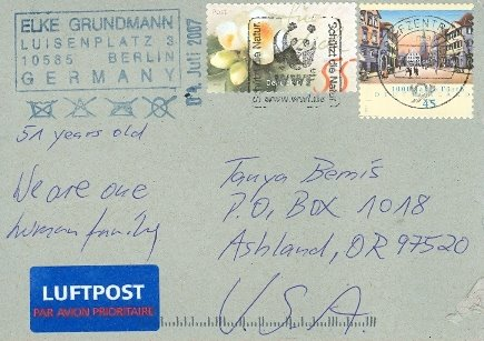 Elke Grundmann, Germany, Posted 07/07