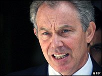 British PM Tony Blair as the New Special Envoy of the Quartet in the Middle East
