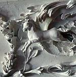 A flying Horse at the Royal Palace