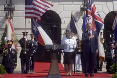 Queen Elizabeth II at the White House