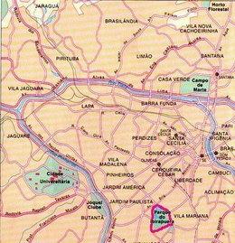Plano de Ibirapuera