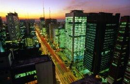 Rascacielos en la zona de la Avd. Paulista en la región de Jardins