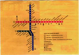 Plano de la red de metro