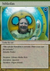 My Library Trading Card