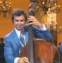 This is Welk's bass and tuba player Richard Maloof