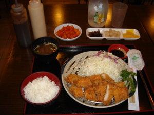tonkatsu,  un piatto della gastronomia giapponese