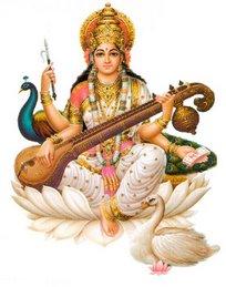 Saraswati ... a Deusa da Sabedoria