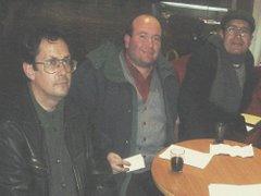 Pedro Frez, Rodrigo Santiagos, Rodrigo Leiva
