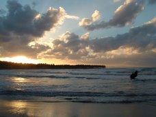 Puesta de Sol, Las Terrenas (Playa Bonita)