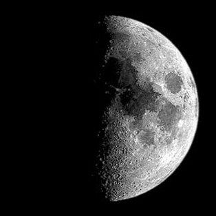 La luna cuando nací..cómo!? no estaba llena!?