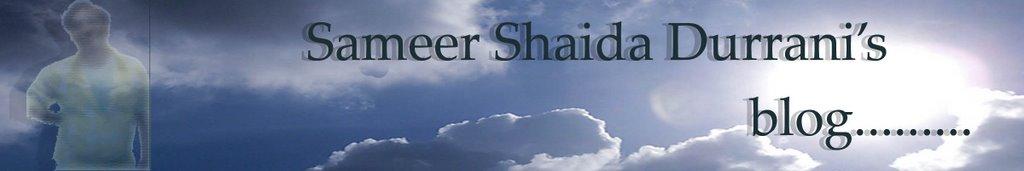 Sameer Durrani's blog