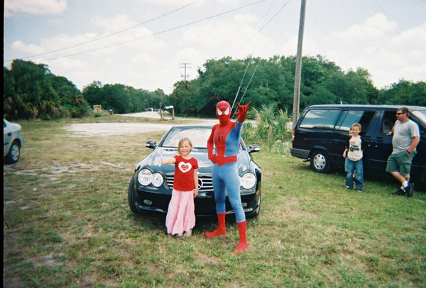 Jocelyn and spiderman