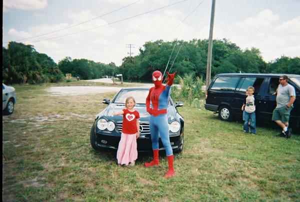 Jocelyn and spiderman